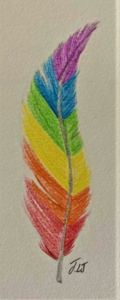 Pride feather 2
